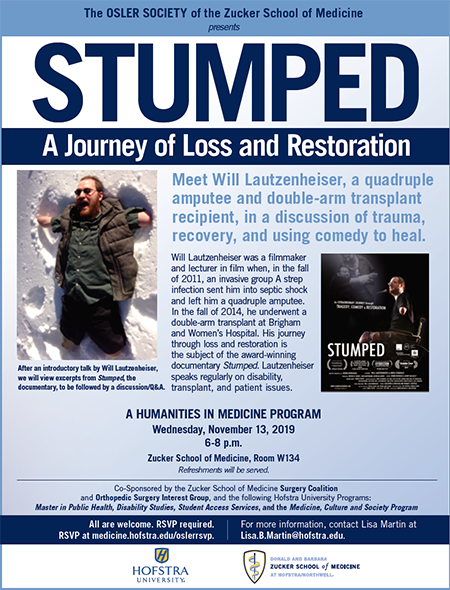 STUMPED screens at Zucker School of Medicine